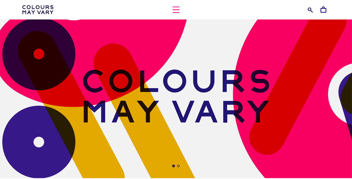 Colours May Vary
